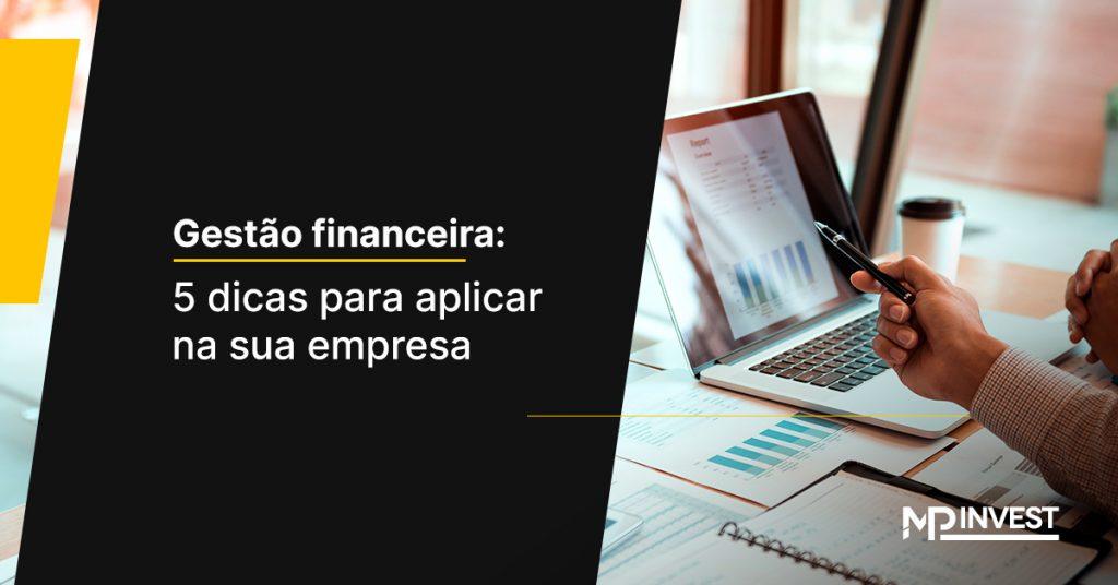 gestão financeira o que é